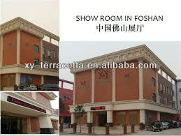 Foshan Terracotta Ventilated Wall Panel With Cladding Fixing