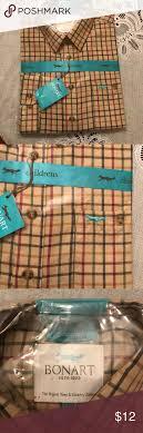 Bonart Cambridge Childrens Long Sleeve Dress Shirt Long