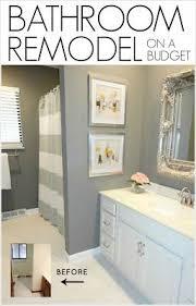bathroom remodels on a budget. Exellent Budget DIY Bathroom Remodel On A Budget And Remodels On A U