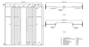 sliding glass doors drawing. Perfect Doors Frameless Glass Door Detail Drawing Sliding Dorma Agile 150 With Doors