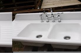 white kitchen sink with drainboard. Top 87 Splendiferous Kitchen Sink Drainboard And Backsplash Porcelain White With Farmhouse Sinks Stainless Steel Apron Ideas Attached High For Sale