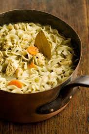 I love paula deen so i was excited to try this recipe but it was very saucy. Paula Deen Chicken Noodle Casserole