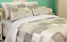 co keighley natural duvet cover king size 90 x 86 two free pillowcases