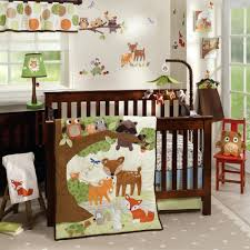 baby fox nursery decor woodland tales by lambs ivy lambs ivy woodland tales  4 piece crib