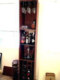 wine rack under counter racks furniture tall liquor cabinet glass ikea