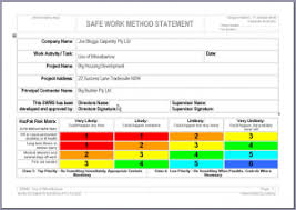 Method Of Statement Sample Why is a Safe Work Method Statement Important Ezy Access Pty Ltd 27