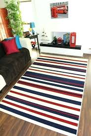red and white striped area rug new red striped outdoor rug blue and white striped area