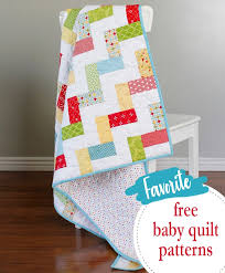 Free Baby Quilt Patterns Impressive A Bright Corner 48 Favorite Free Baby Quilt Patterns