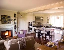 Open Concept Kitchen And Living Room Design