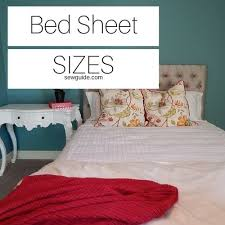 Bedspread Size Chart Bed Sheet Sizes Flat Sheets Fitted Sheets Comforter