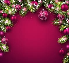 New Year Backgrounds New Year Background With Red Christmas Balls Vectors Free Download