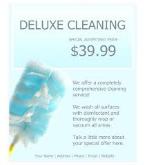 House Cleaning Flyer Template Beauteous Cleaning Services Flyers Free Templates For Business Baycabling