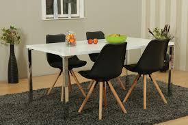 Esszimmer Stühle Stuhl Essgruppe Tisch 5tlg Esstisch Sitzgruppe