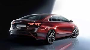 2019 Kia Forte Renderings Preview New Sedan Ahead Of Naias Kia Forte Kia Concept Car Design