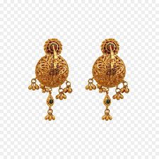Jewelry Design Png Gold Earrings Png Download 1200 1200 Free Transparent