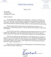 The Corker Letter