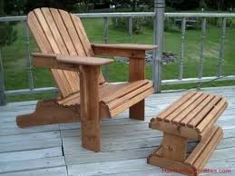 adirondack lawn chair woodworking plans