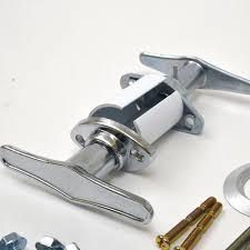garage door t handle keyed lock kit preferred doors
