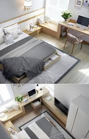 modern bedroom ideas for small rooms. Unique For This Bedroom Layout Is Such A Great Way To Utilise Small Area  19 More  Cosy Ideas Intended Modern Bedroom Ideas For Small Rooms D