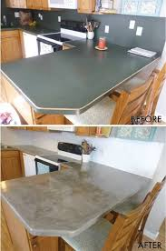 elegant concrete countertop over laminate coutertop step by d i y existing tile overlay granite overhang plywood