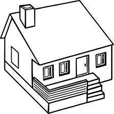 Small Picture Cute 3d Home Coloring Page Wecoloringpage