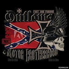 motorcycle club emblem iron cross a