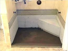 building a shower how