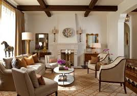Italian Living Room Design Single Beige Tifted Armless Sofa Italian Villa Living Room Cream