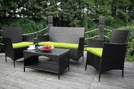 amazoncom patio furniture. Clever Design Outdoor Rattan Furniture Amazon Com Merax 4 Piece PE Wicker Sofa And Chairs Set Amazoncom Patio