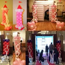 Princess Balloon Decoration How To Make Princess Balloon Decorations For Frozen Sophia The