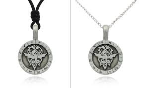 Details About New Celtic Dragon Astrology Chart Silver Pewter Charm Necklace Pendant Jewelry