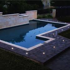 in ground lighting. Life Saver Pool Fence In Ground Lighting