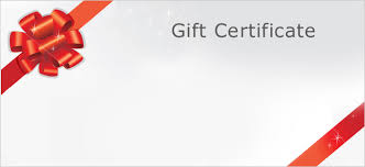 gift card template personalized gift certificate template regiftable create a free
