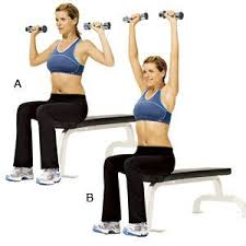 Image result for dumbbell press