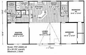 2 Bedroom Double Wide Floor Plans Ideas Mobile Home New Trailer Bed Bath Of  Also Awesome For 2018