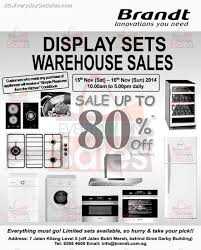 Warehouse Kitchen Appliances Brandt Display Sets Warehouse Sale Kitchen Appliances Sg