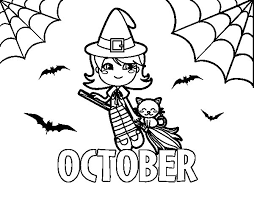 Small Picture October coloring page Coloringcrewcom