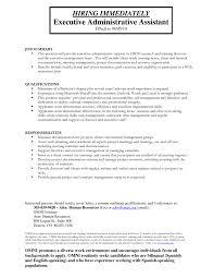 Sample Resume For Administrative Assistants Administrative Assistant Resume Administrative Assistant Resume