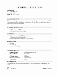 5 Basic Cv Templates Builders Besttemplates