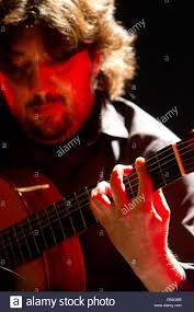 Antonio Rey flamenco guitar performing at the Jazz Voyeur Festival Stock  Photo - Alamy