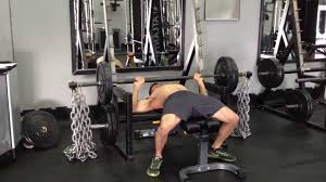 Barbell Bench Press With Chains  YouTubeChains Bench Press