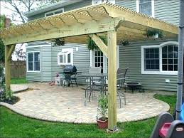 attached covered patio ideas. Patio Covering Ideas Best Of Build Cover And Covered  Attached Full . Pergola Top