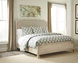 Amazon.com: Ashley B693 Demarlos 4 pc King Bedroom Set - In Home ...