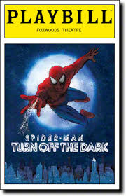 Musical Theatre Diary Etc Review Spider Man