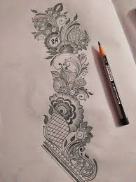 Pen Mehndi Design Henna Ink Line Art Doodle Mehndi Art Designs New Mehndi