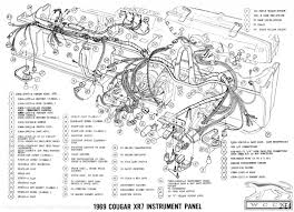 manual complete electrical schematic 1969 manual complete electrical schematic fits 1969 mercury cougar