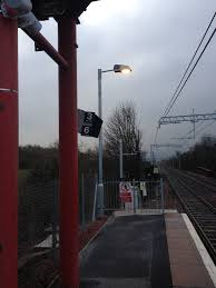 Hinged Lighting Columns Uk Race Stations Railway Electrical Services