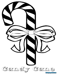 Candy Cane Coloring Pages 39408