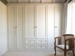 Dining Room Closet Charming Built In Dining Room Table 4 White Wardrobe Armoire