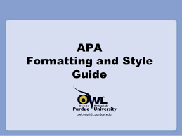 Apa Style For Powerpoint Apa Style Ppt